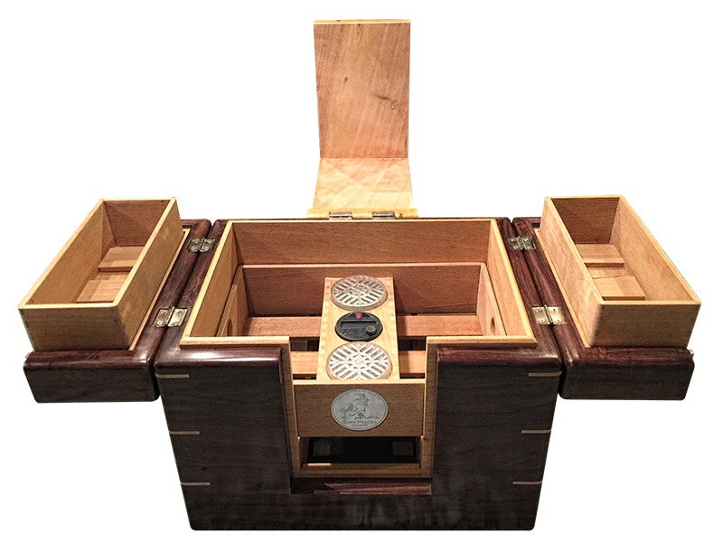 Katalox Lancelot Cigar Humidor