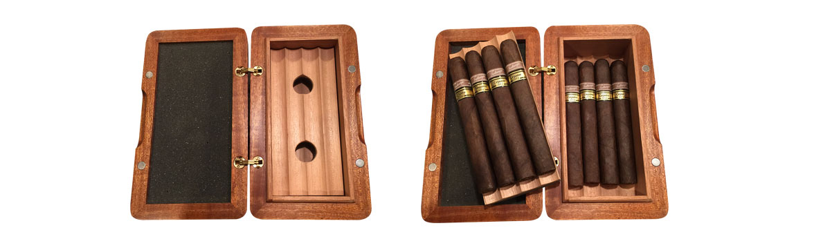 Galahad travel cigar humidor