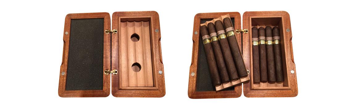 Galahad travel cigar humidor