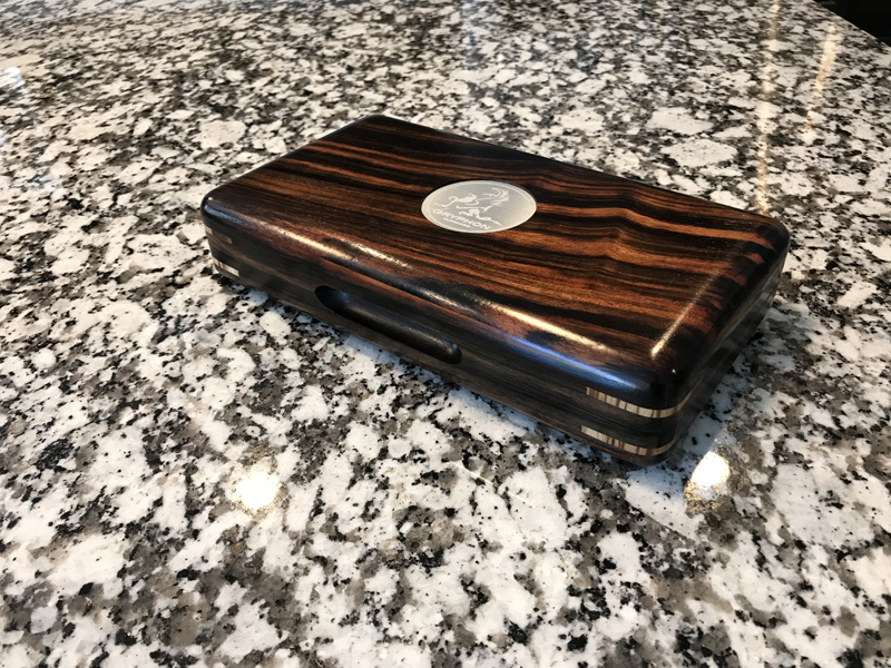 The Camelot #045 - Travel Cigar Humidor