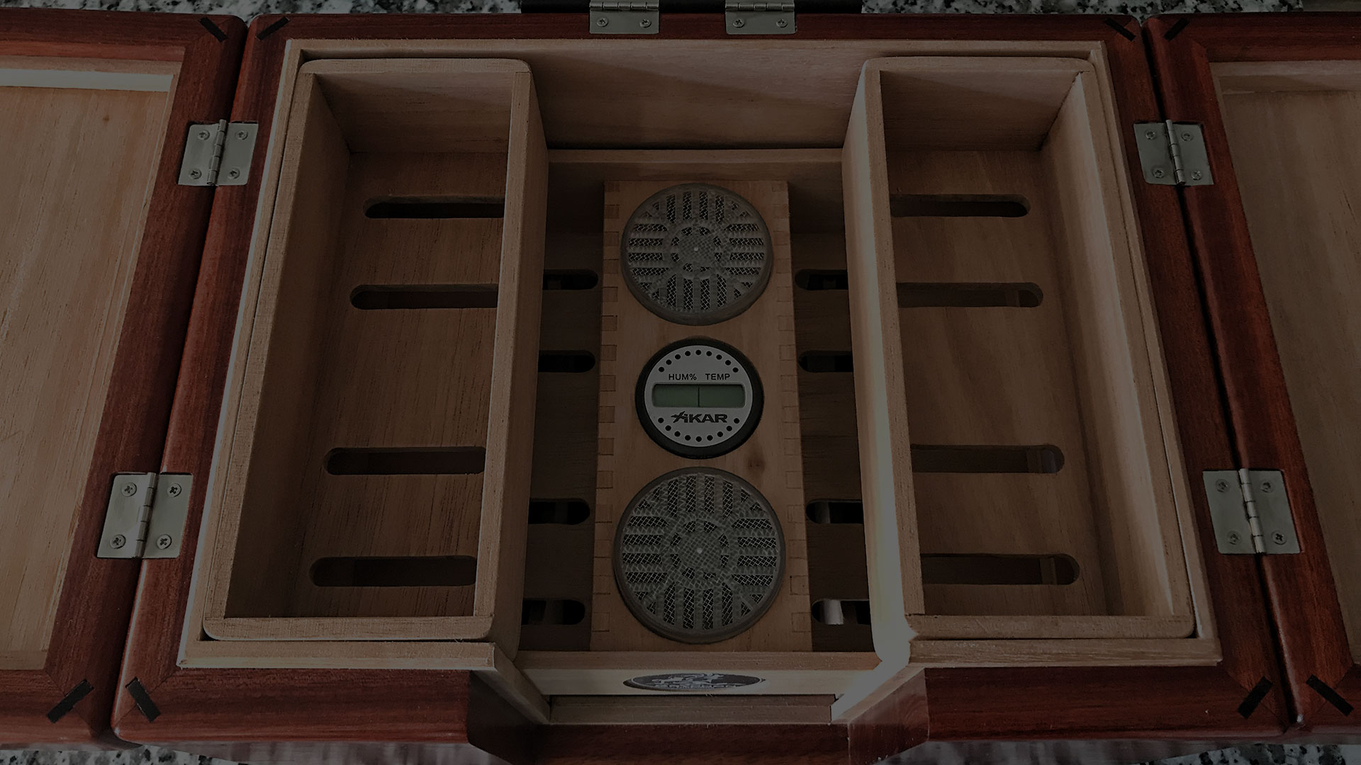 Handcrafted cigar humidors, built to perfection.