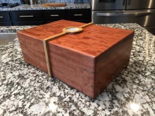 The Merlin #002 - Desktop Cigar Humidor