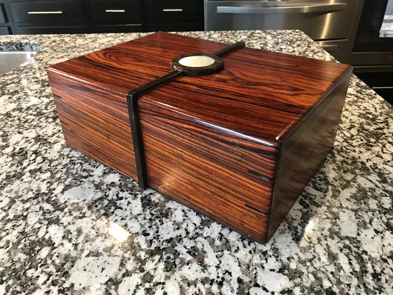 The Merlin #005 - Desktop Cigar Humidor