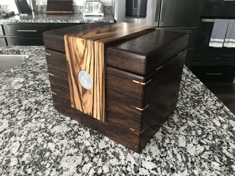The Lancelot #026 - Desktop Cigar Humidor