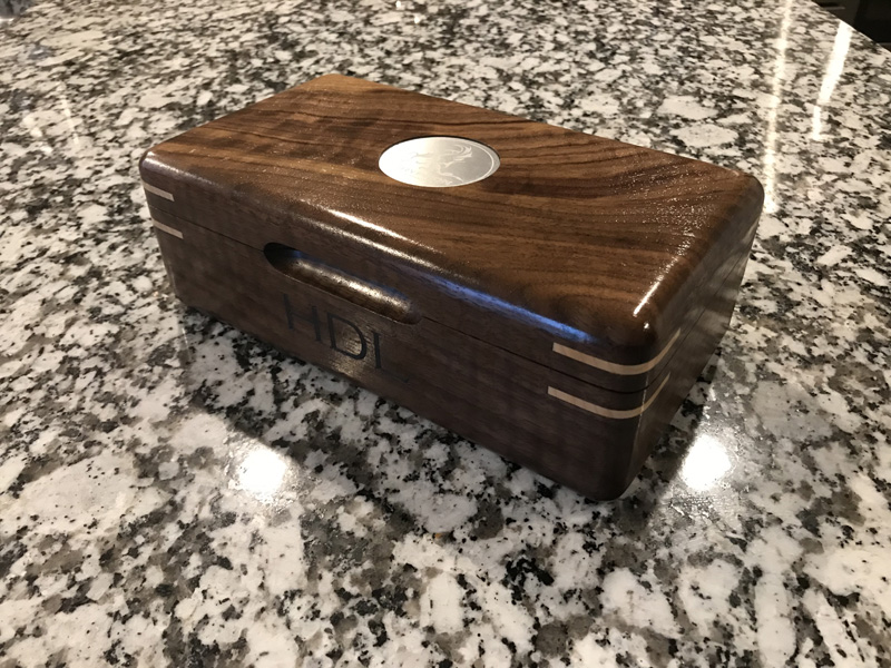 The Galahad #008 - Travel Cigar Humidor