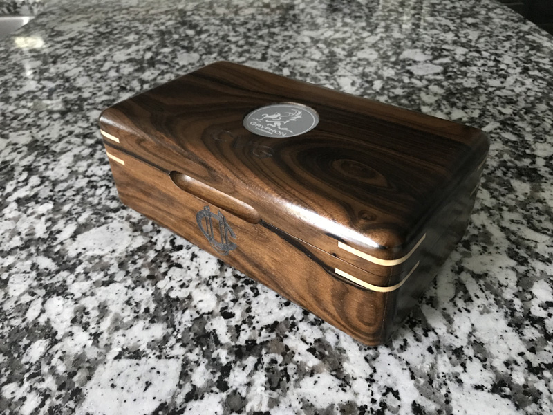 The Galahad #010 - Travel Cigar Humidor