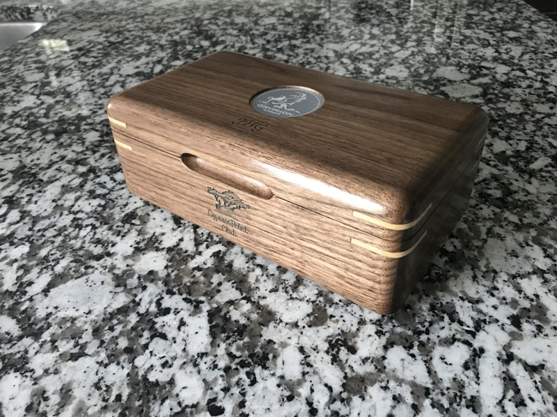 The Galahad #011 - Travel Cigar Humidor