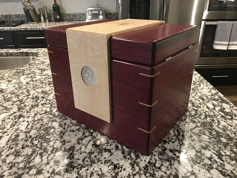 The Lancelot #031 - Desktop Cigar Humidor