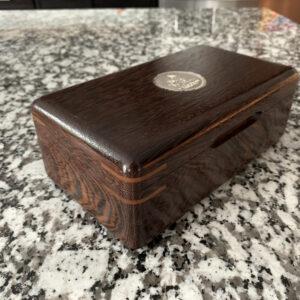 The Galahad #027 - travel cigar humidor