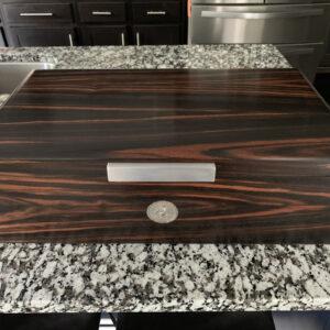 200-250ct Macassar Ebony Desktop Cigar Humidor